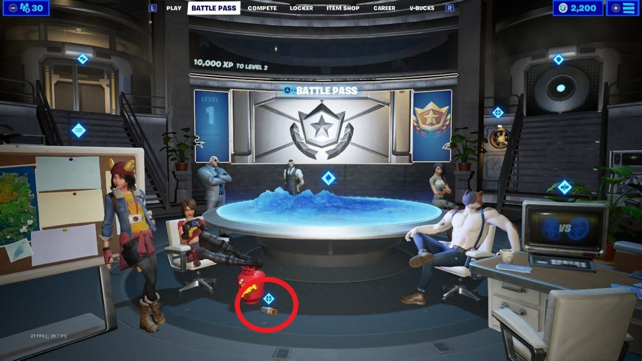 Fortnite Deadpool Chimichanga Ubicaciones