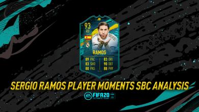 Photo of FIFA 20 Player Moments Sergio Ramos SBC: requisitos, costos y análisis