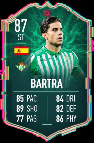 Bartra Card