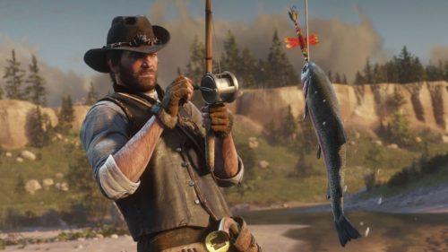 pesca roja muerta