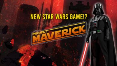 STAR WARS GAME project maverick