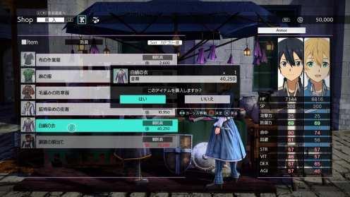 Alicización en línea de Sword Art (19)