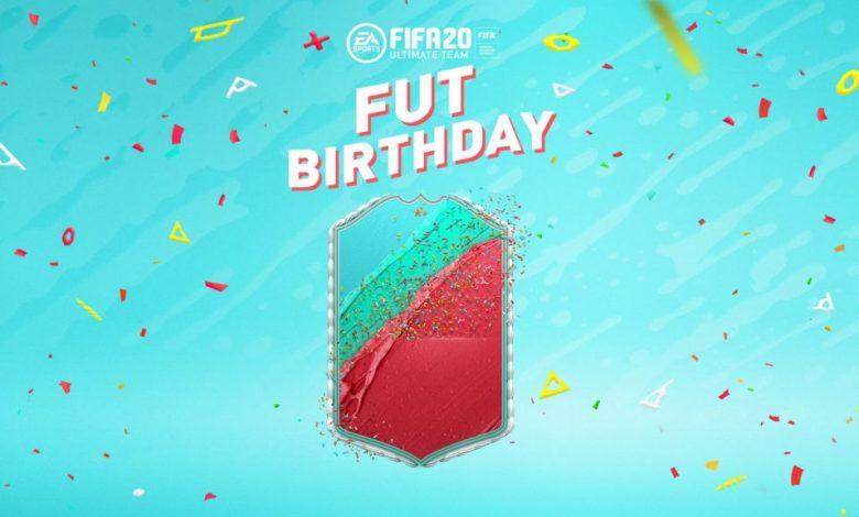 FIFA 20: FUT Birthday - Detalles oficiales del evento