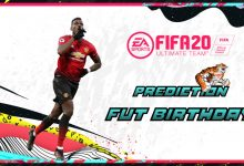 FIFA 20: FUT Birthday - FUT Prediction anniversary