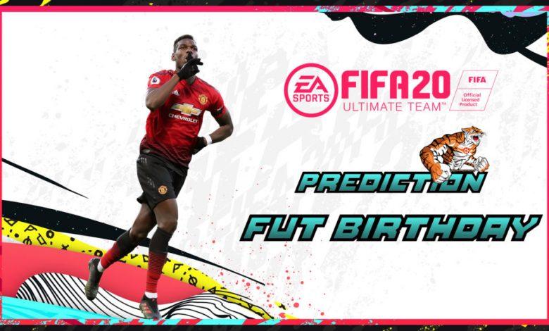 FIFA 20: FUT Birthday - FUT Prediction anniversary