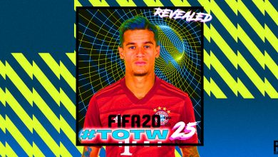 Photo of FIFA 20 TOTW 25 REVELADO: Coutinho con calificación 89, Saul con calificación 87 y más