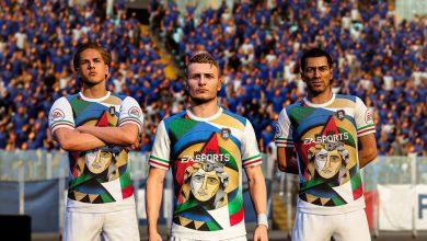 FIFA 20: detalles gráficos para el kit de aniversario de la Unificación de Italia
