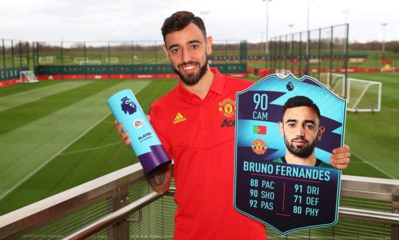FIFA 20: febrero POTM de la Premier League - Bruno Fernandes
