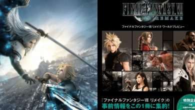 Photo of Final Fantasy VII Remake Books World Preview & Poster Collection Obtenga fechas de lanzamiento occidentales