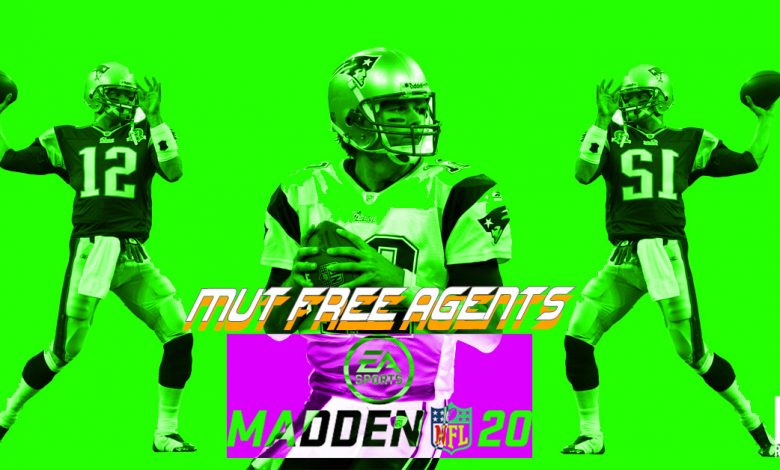 madden 20 mut free agents master