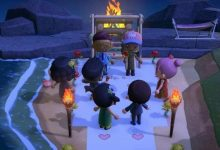 Photo of Pareja recibe una boda sorpresa de sus amigos en Animal Crossing: New Horizons