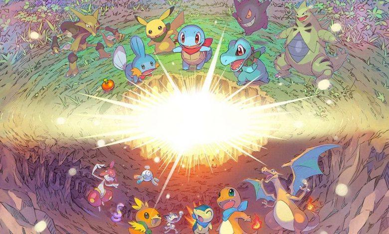Pokemon Mystery Dungeon DX Descarga e instala el tamaño