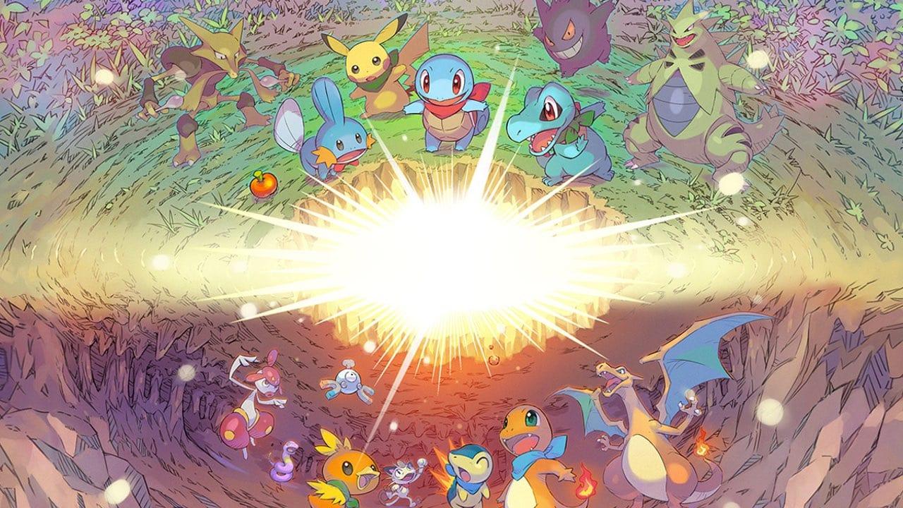 Tamaño de descarga de Pokemon Mystery Dungeon