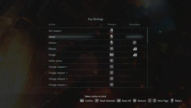 Photo of Resident Evil 3 (RE3) PC – Controles de teclado y combinaciones de teclas
