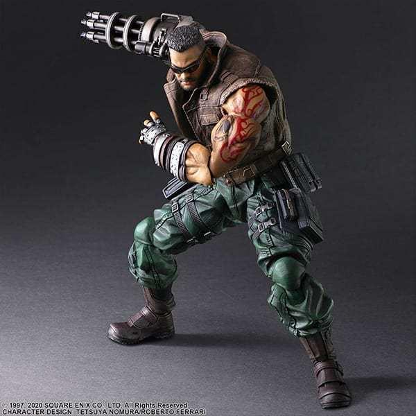 Final Fantasy VII Remake Figure Barret (4)