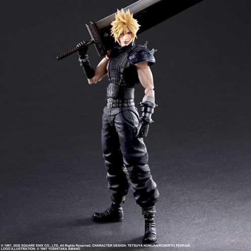 Final Fantasy VII Remake Figure Cloud (5)