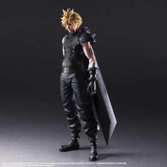 Final Fantasy VII Remake Figure Cloud (1)