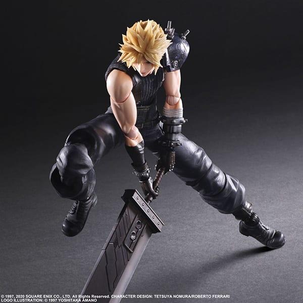 Final Fantasy VII Remake Figure Cloud (4)