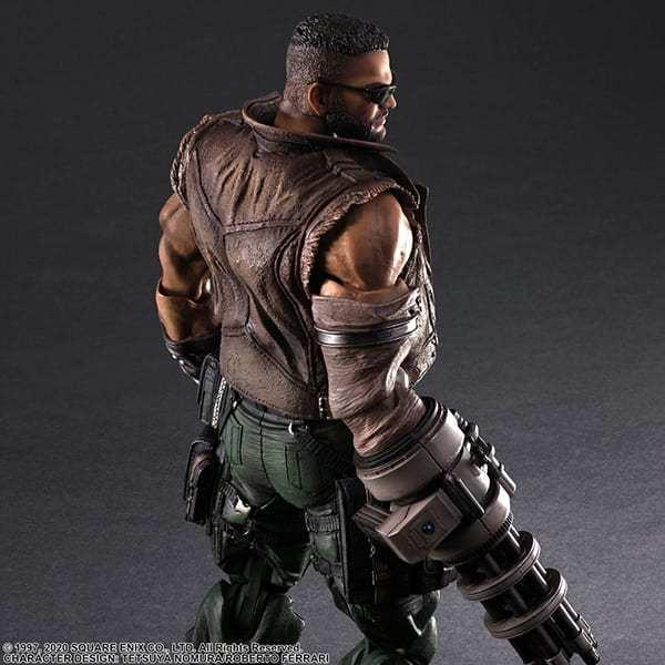 Final Fantasy VII Remake Figure Barret (1)