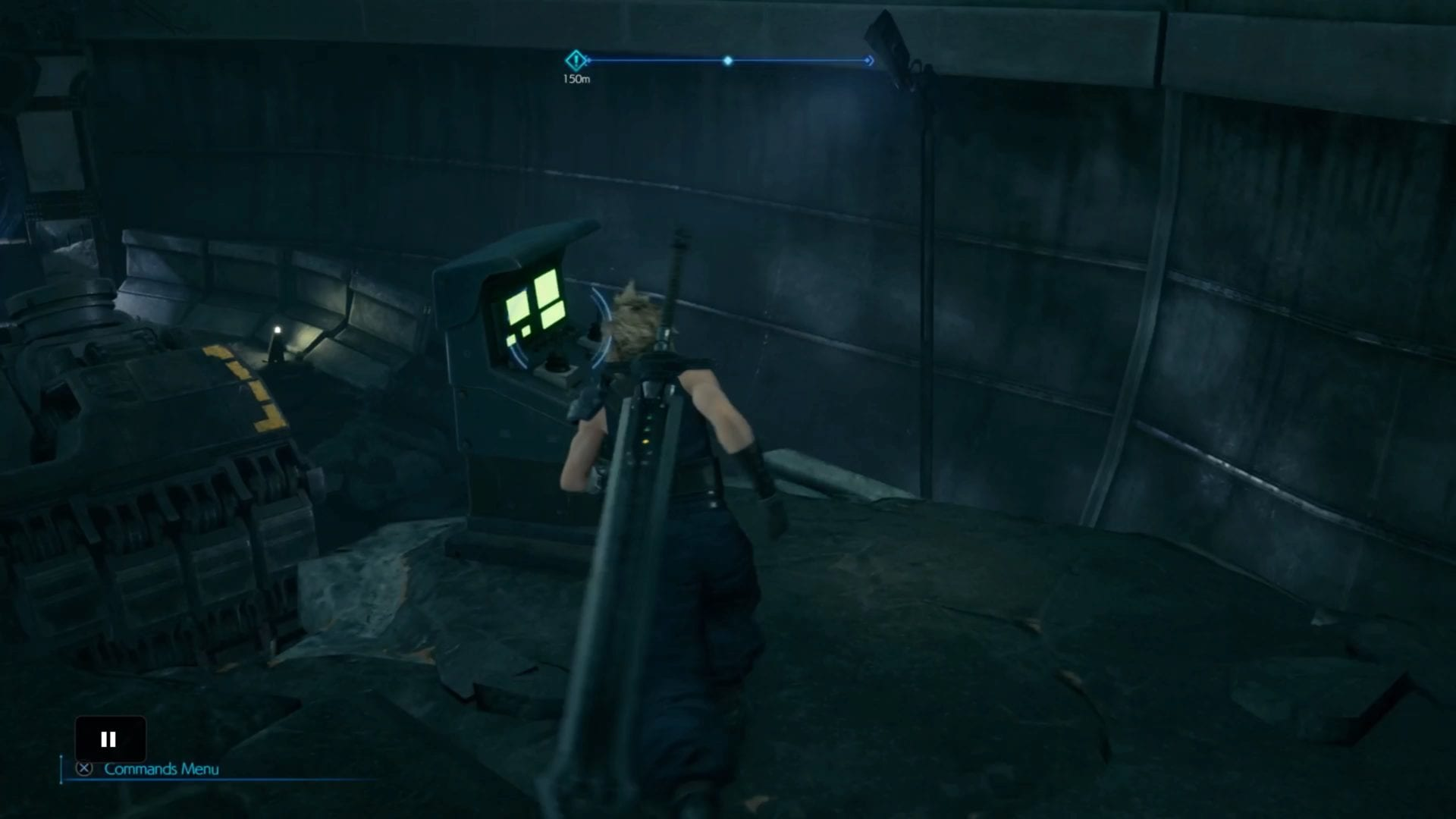 Final Fantasy 7 remake, manos de robot