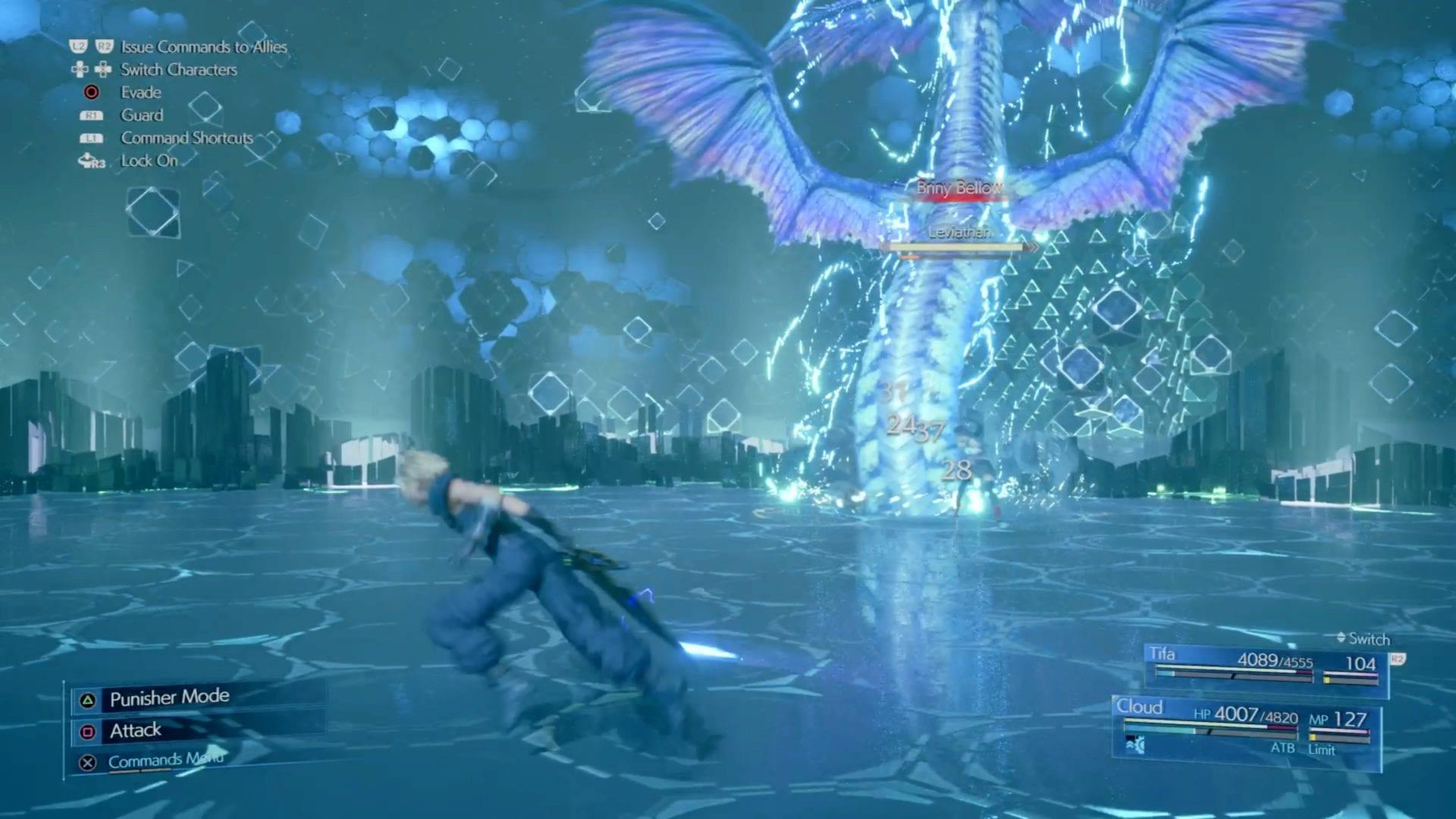 Leviatán en Final Fantasy 7 Remake