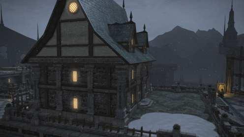 Carcasa de Final Fantasy XIV Ishgard (11)