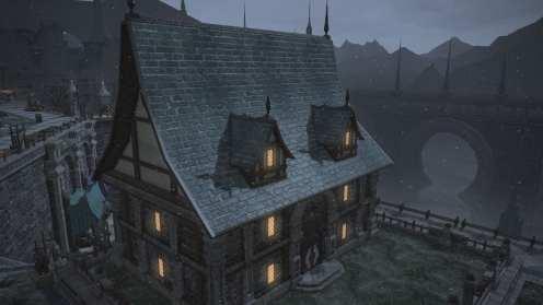 Carcasa de Final Fantasy XIV Ishgard (12)