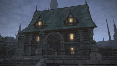 Carcasa de Final Fantasy XIV Ishgard (17)
