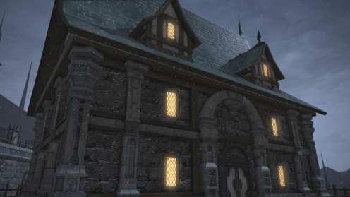 Carcasa de Final Fantasy XIV Ishgard (14)