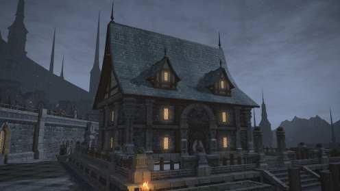 Carcasa de Final Fantasy XIV Ishgard (13)