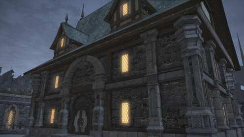 Carcasa de Final Fantasy XIV Ishgard (15)