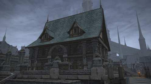 Carcasa de Final Fantasy XIV Ishgard (27)