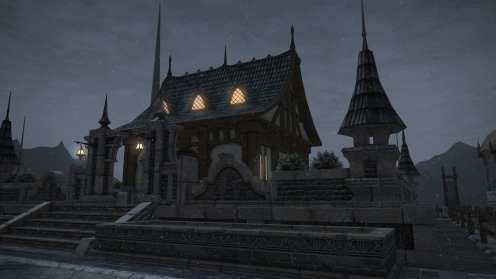 Carcasa de Final Fantasy XIV Ishgard (9)