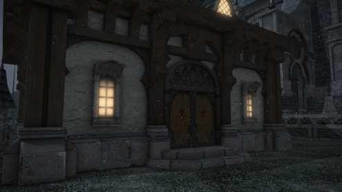 Carcasa de Final Fantasy XIV Ishgard (6)