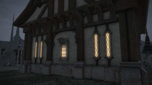 Carcasa de Final Fantasy XIV Ishgard (5)