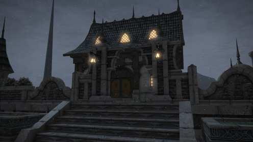 Carcasa de Final Fantasy XIV Ishgard (8)