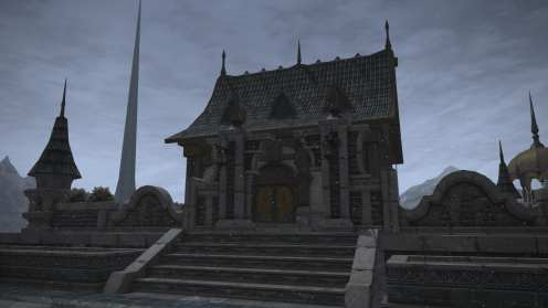 Carcasa de Final Fantasy XIV Ishgard (22)