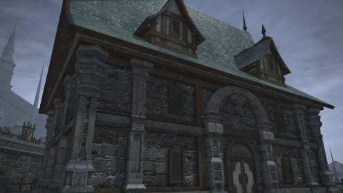 Carcasa de Final Fantasy XIV Ishgard (24)