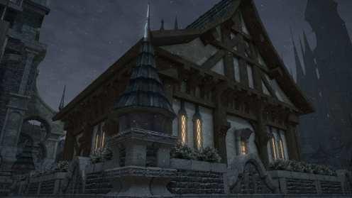 Carcasa de Final Fantasy XIV Ishgard (3)