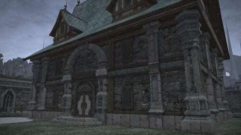 Carcasa Ishgard de Final Fantasy XIV (25)