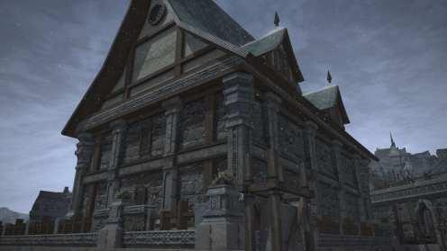 Carcasa de Final Fantasy XIV Ishgard (26)