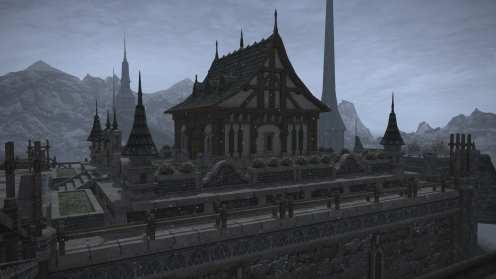 Carcasa de Final Fantasy XIV Ishgard (20)