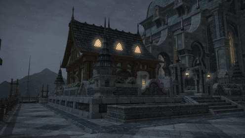 Carcasa de Final Fantasy XIV Ishgard (4)
