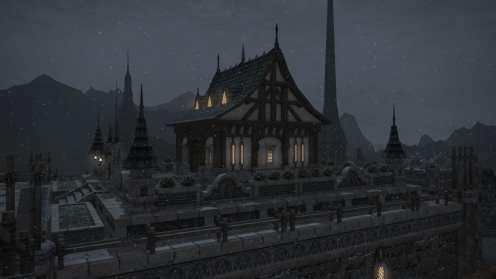 Carcasa de Final Fantasy XIV Ishgard (2)