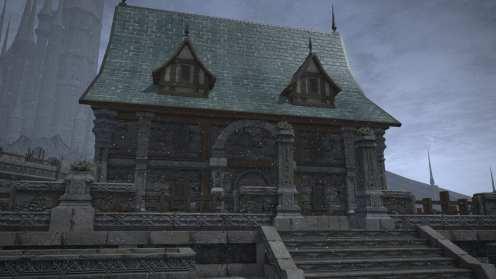Carcasa de Final Fantasy XIV Ishgard (28)