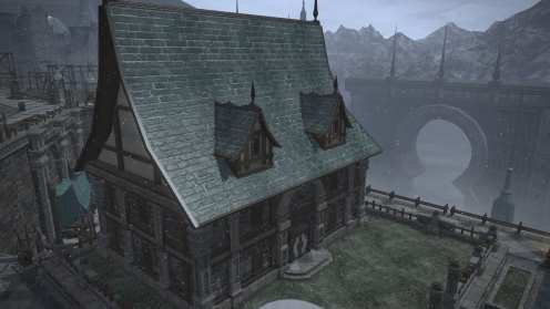 Carcasa de Final Fantasy XIV Ishgard (30)