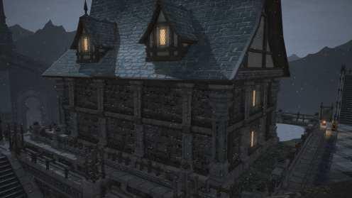Carcasa de Final Fantasy XIV Ishgard (10)