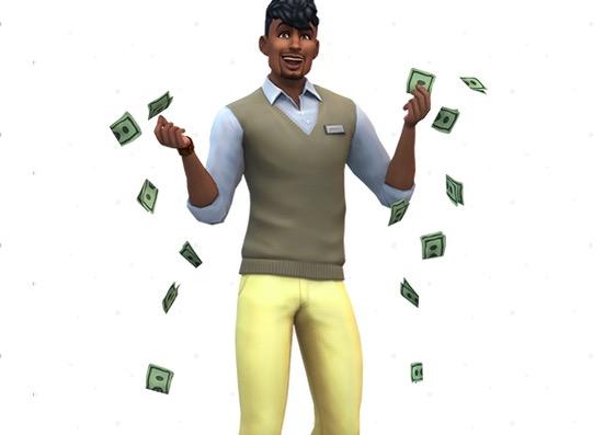 sims 4 mods, cuenta bancaria