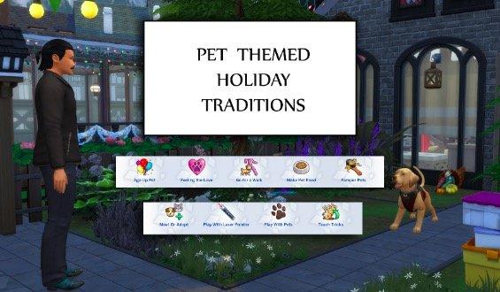 los sims 4 mods mascotas