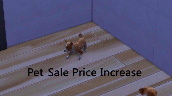 aumento de precio de venta sims 4